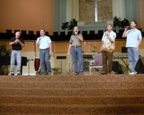 July 2009 – Practice in the new sanctuary