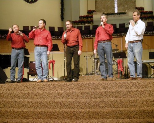 December 2009 – Practice for Christmas program